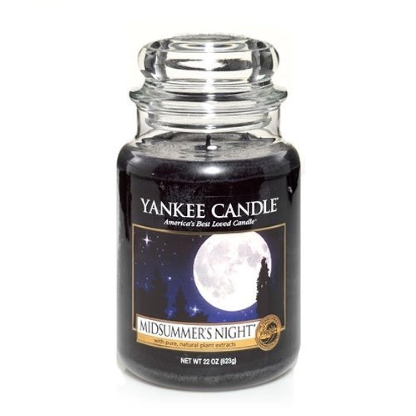 プレビスサイトウルル万一に備えてYankee Candle Midsummer's Night Large Jar Candle, Fresh Scent by Yankee Candle [並行輸入品]