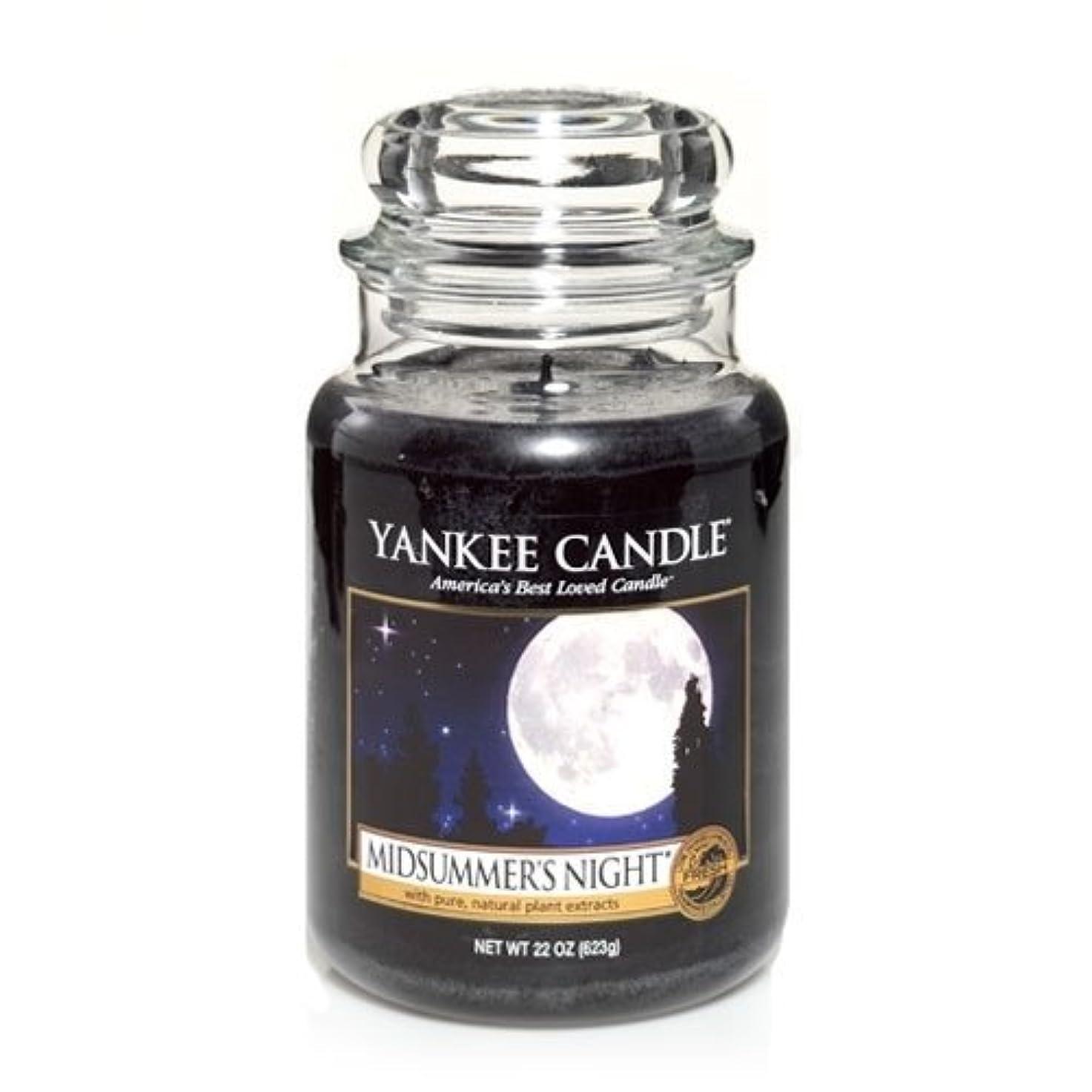 刈る強制アミューズメントYankee Candle Midsummer's Night Large Jar Candle, Fresh Scent by Yankee Candle [並行輸入品]