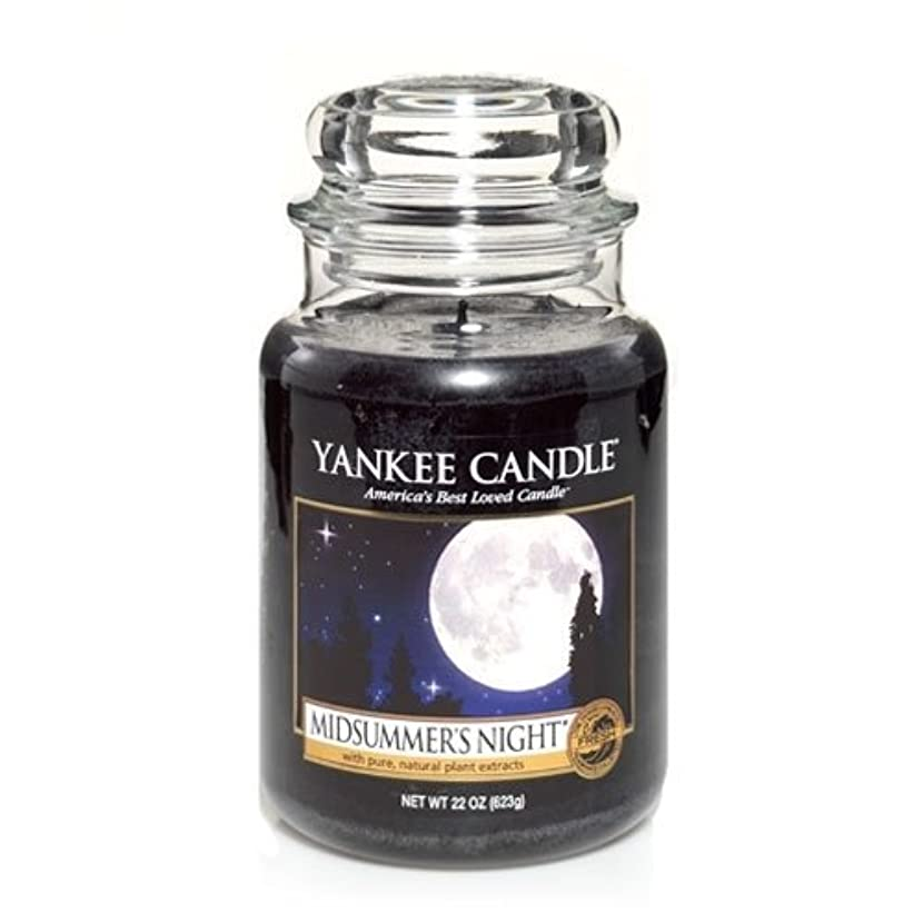 さまよう再開Yankee Candle Midsummer's Night Large Jar Candle, Fresh Scent by Yankee Candle [並行輸入品]