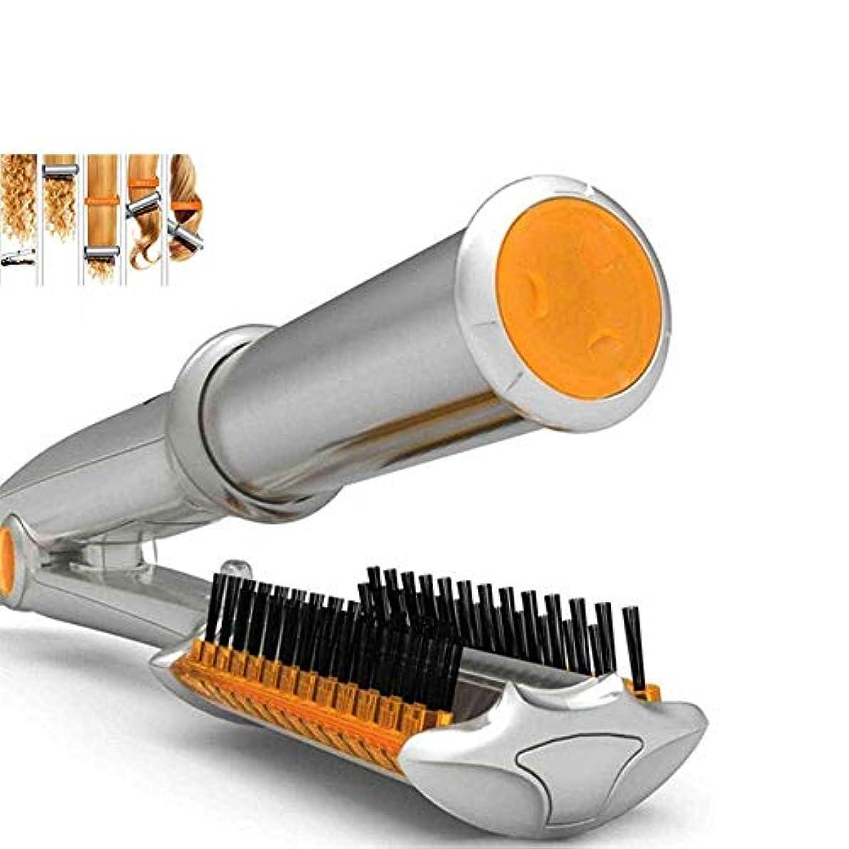 日光電話線カーラーストレートヘアデュアルユースエッグロール自動カーリングアイアン PTC 加熱スマート3速調整温度