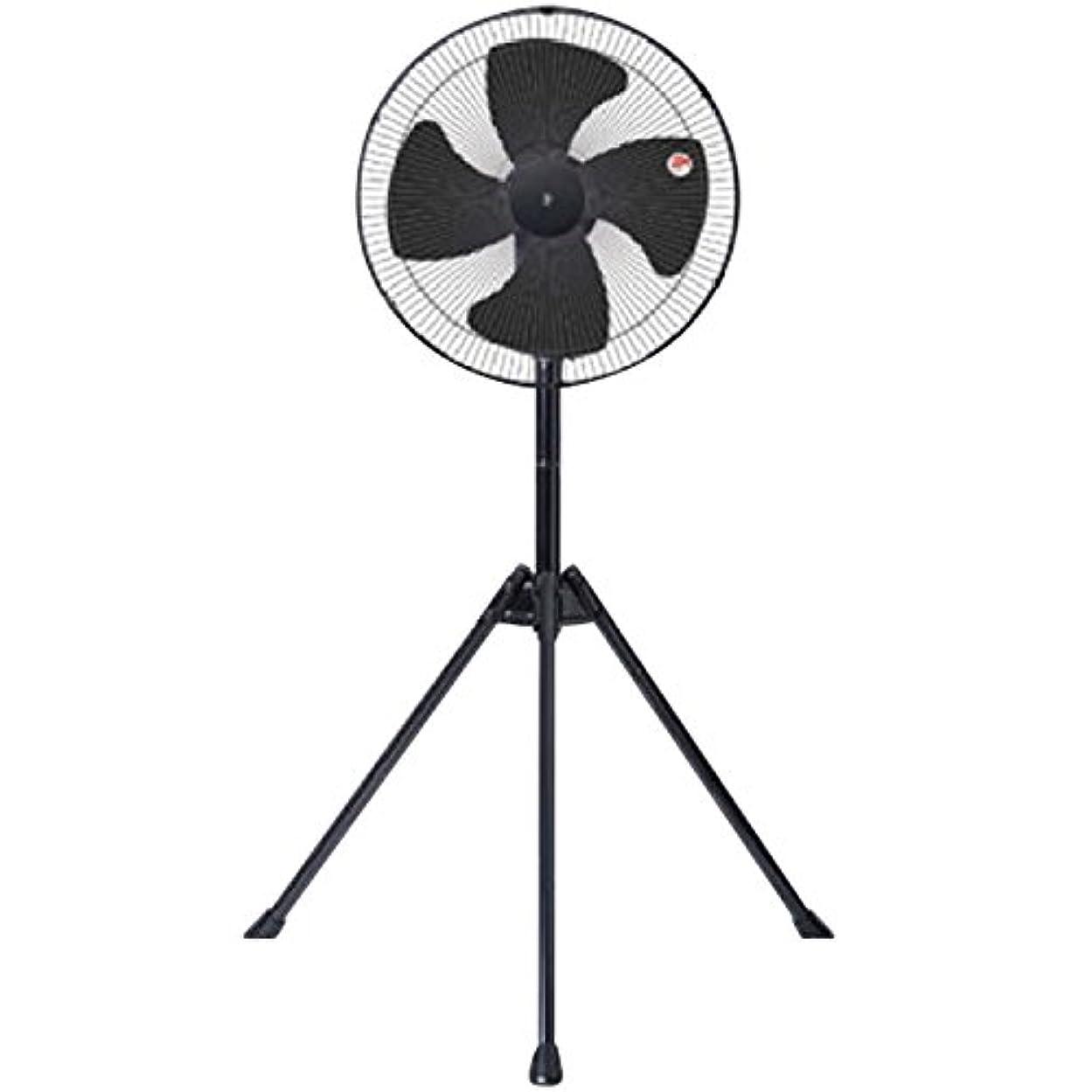 カード見て好意的山善 45cm工業扇風機 立体首振り (スタンド式)(ロータリースイッチ)(風量3段階) YKSX-G451
