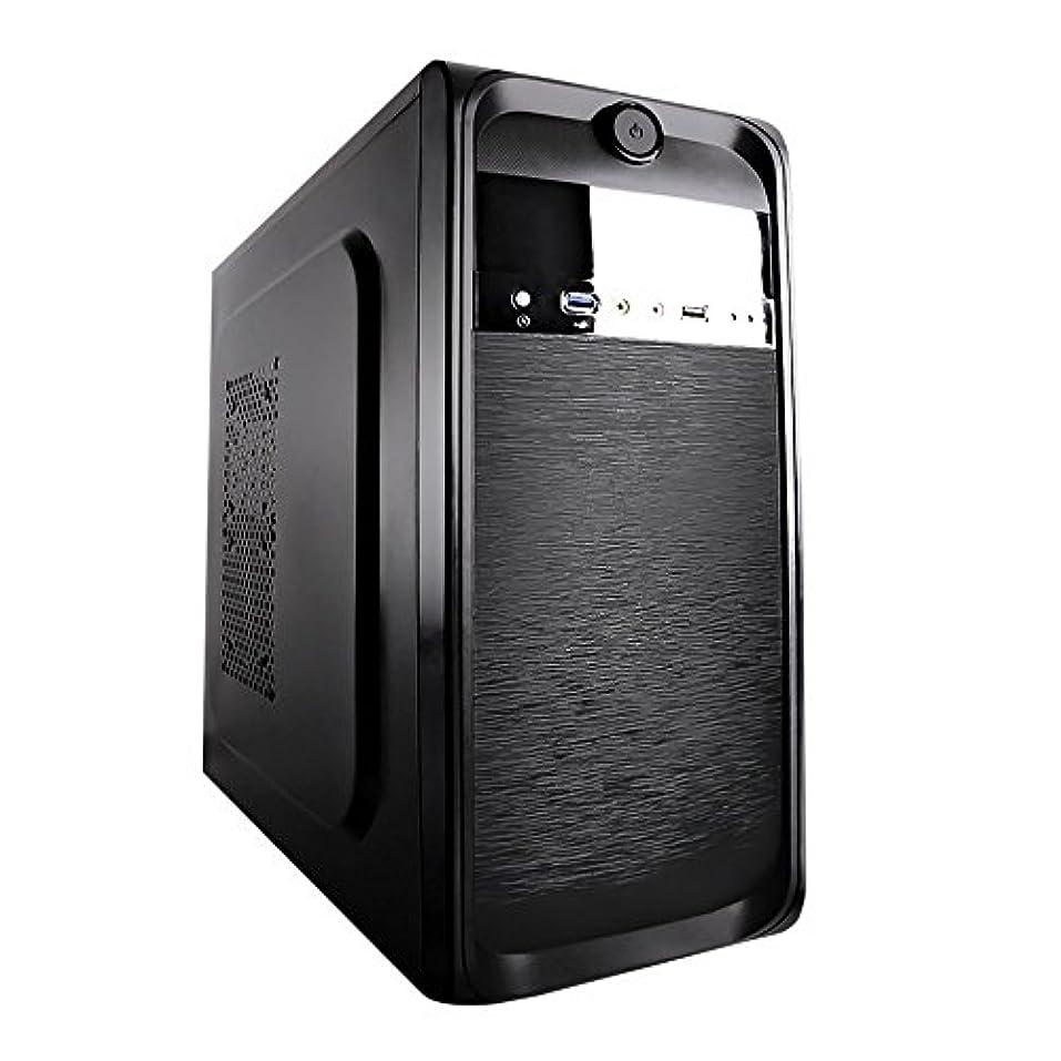 誕生日正確にソケットTopower TP-2001BB-450 ATX/mATX Mid-Tower Computer with 450W Power Supply Cases (Black) [並行輸入品]