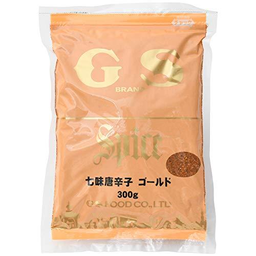 ジーエスフード 七味唐辛子 ゴールド 300g