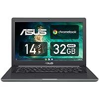 ASUS ノートパソコン Chromebook C403SA 14.0型WXGA液晶 タッチ機能なし 英語キーボード Celeron N3350 4GB eMMC 32GB 約11時間駆動 【日本正規代理店品】 C403NA-FQ0029 ブラック