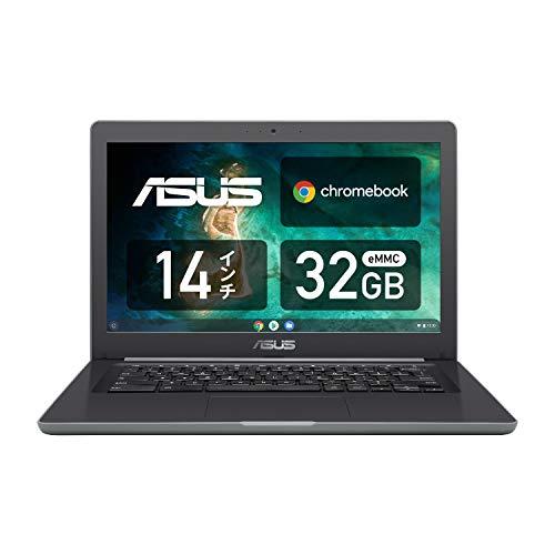 ASUS ノートパソコン Chromebook C403SA 14.0型 タッチ機能なし 英語キーボード Celeron N3350 4GB eMMC 32GB 約11時間駆動 【日本正規代理店品】 C403NA-FQ0029 ブラック