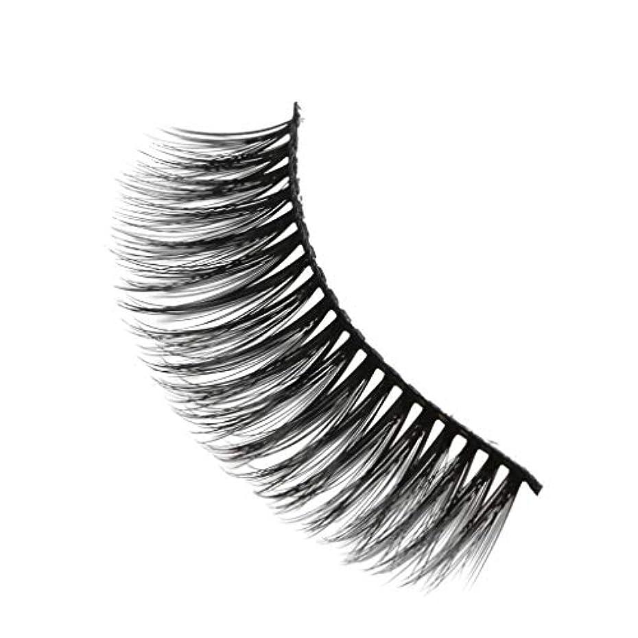 苦行学期蘇生する柔らかい長い巻き毛と歪んだ多くの層まつげと3Dミンクの毛皮の10ペア