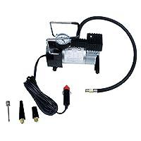 Fityle エアコンプレッサー 電動ポンプ 12V 100PSI インフレータ タイヤ 空気入れ 自動車用