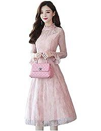 4dde974396dad Amazon.co.jp  ピンク - ワンピース・ドレス   レディース  服 ...