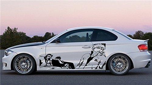 ビニールデカール壁画ステッカーアニメ車グラフィックスBleach Mangaホットラップ072