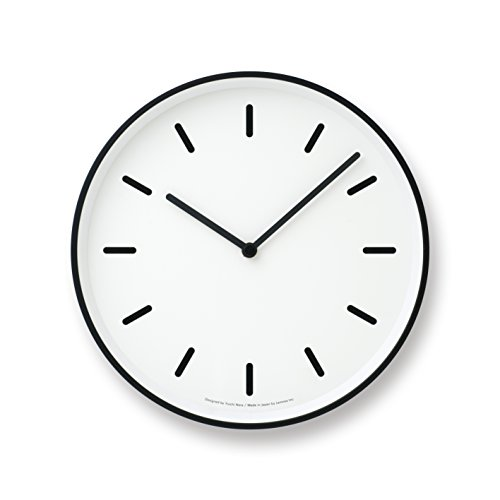 Lemnos MONO Clock ホワイト LC10-20B WH