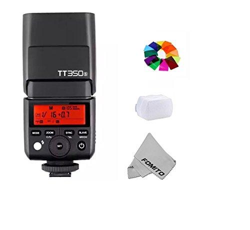 GODOX TT350S TTL Miniカメラフラッシュ 内蔵2.4G TTLオートフラッシュ  SONY マイクロ一眼レフカメラとSONY 一眼レフカメラに適用 対応機種a7RII,a7R,a58,a99,ILCE6000L,a77II,RX10等