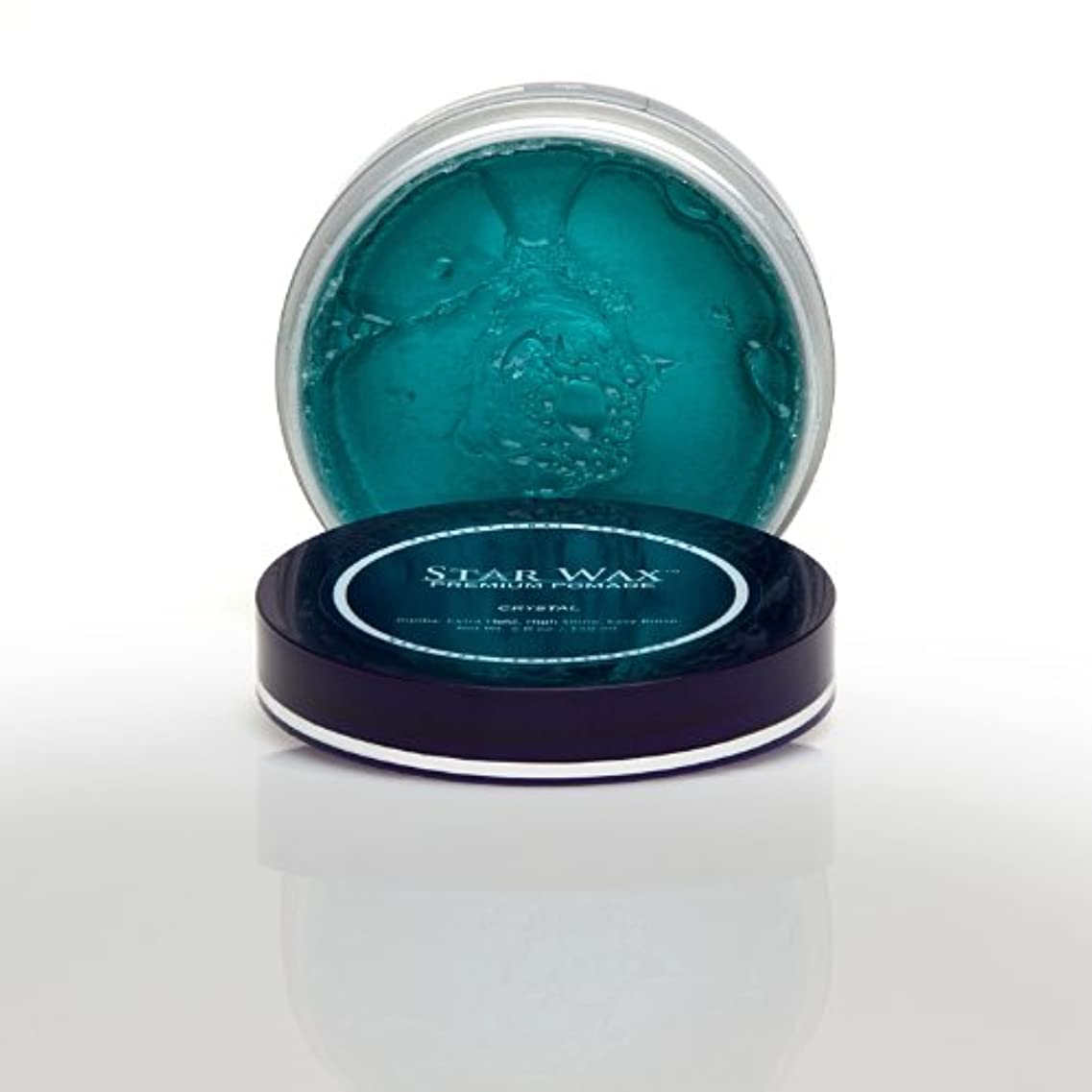王室テキスト豊富なStar Wax | Premium Pomade, Crystal(スターワックスプレミアム ポマード「クリスタル」)?Star Pro Line(スタープロライン)製?5(液量)オンス/150ml