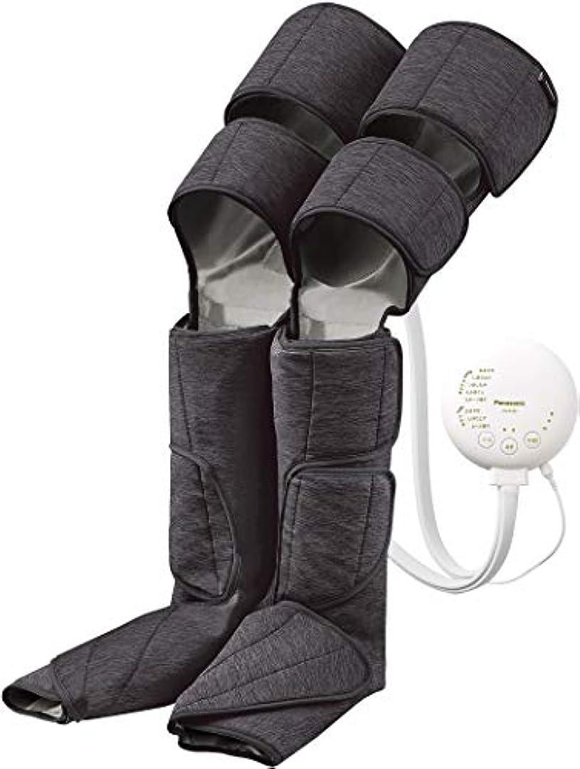 外交問題靴下適度なパナソニック エアーマッサージャー レッグリフレ ひざ/太もも巻き対応 温感機能搭載 ダークグレー EW-RA99-H