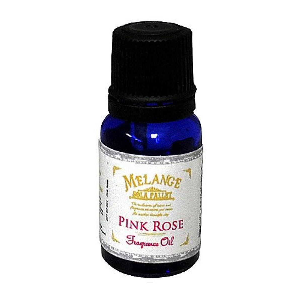 ミネラル肉屋防水SOLA PALLET MELANGE Fragrance Oil フレグランスオイル Pink Rose ピンクローズ