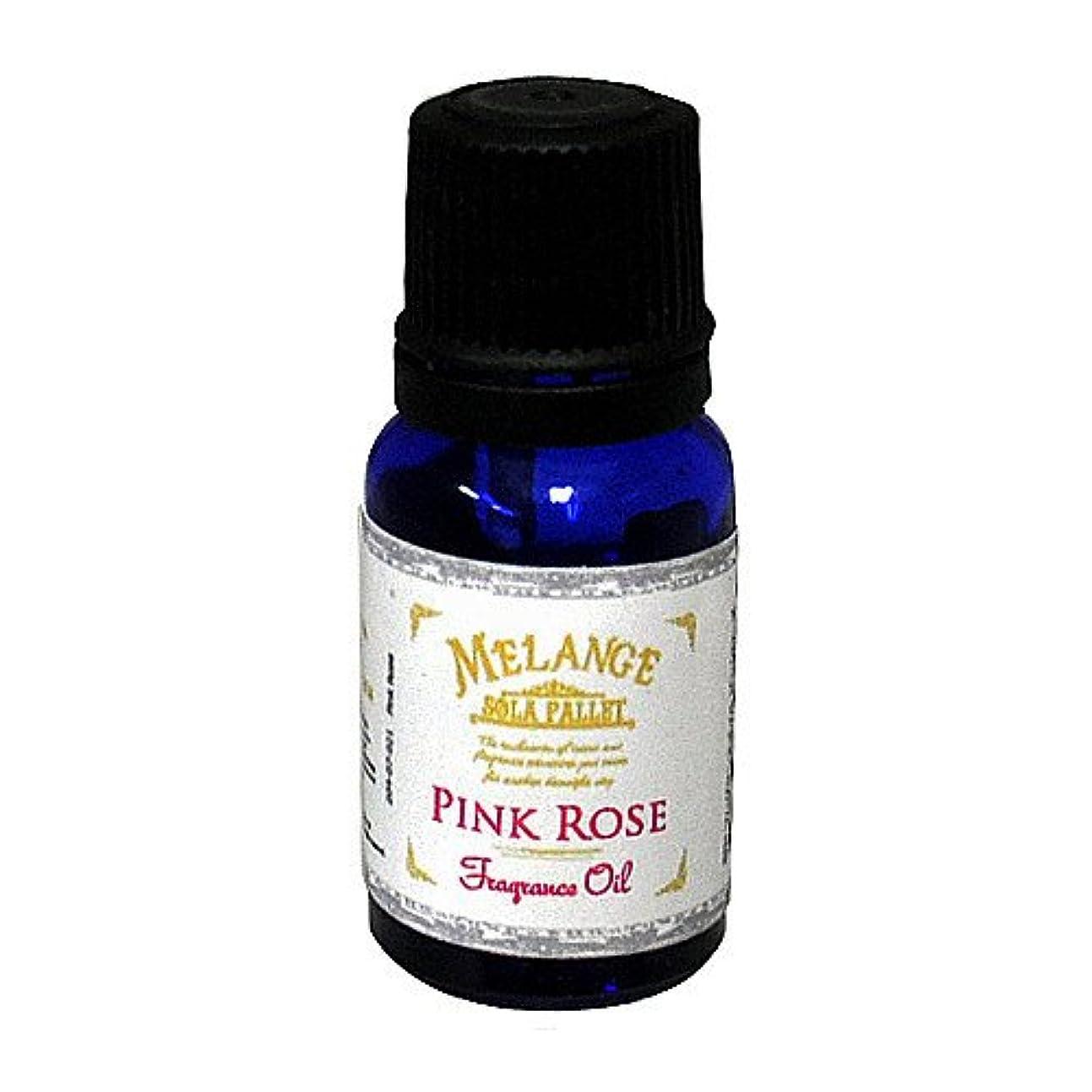 蒸改修する保護SOLA PALLET MELANGE Fragrance Oil フレグランスオイル Pink Rose ピンクローズ