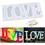 Resin Silicone Molds, Love