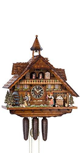 鳩時計 シュヴァルツヴァルド(黒い森)の家 時計工房 可動式時計職人、時計行商人、シュヴァルツヴァルド...