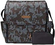 Petunia Pickle Bottom Boxy Backpack, Camo Leatherette