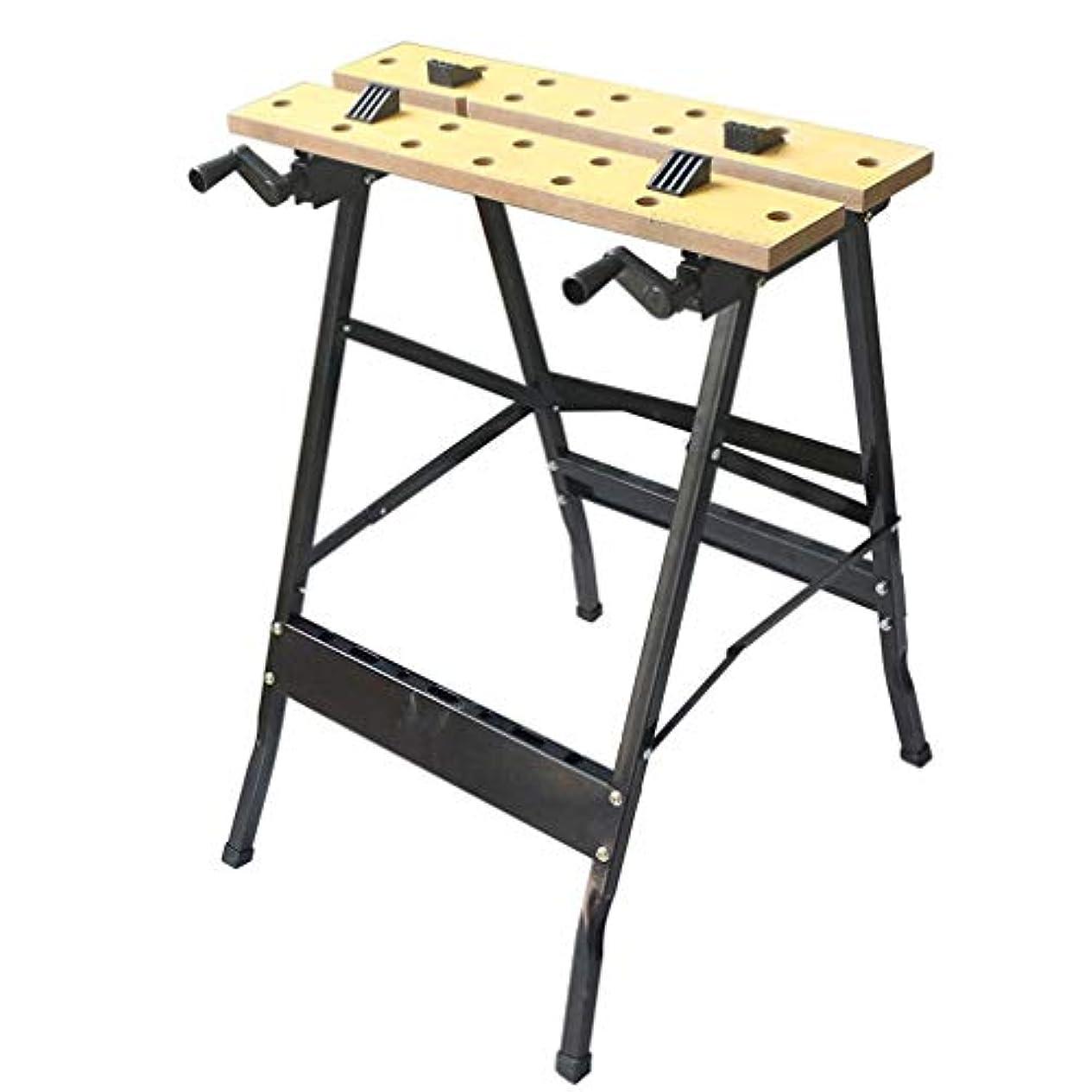 宿る陰気乱用木工ワークベンチは、木材の切断とDIYの彫刻のために取り外し可能なモバイル簡単なワークベンチ FEIXIANG