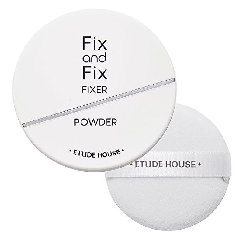 くぼみリフレッシュ無視できるエチュードハウス(ETUDE HOUSE) フィックス&フィックス パウダーフィクサー
