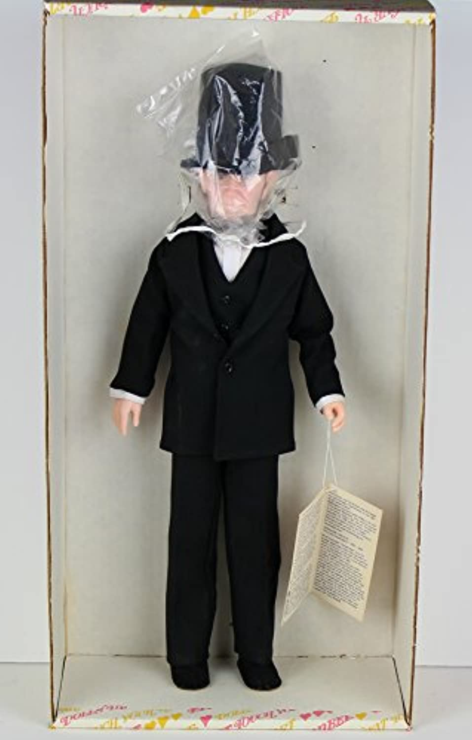 Effanbee The PresidentsシリーズAbraham Lincoln # 7902 ( 1983 – 84 )