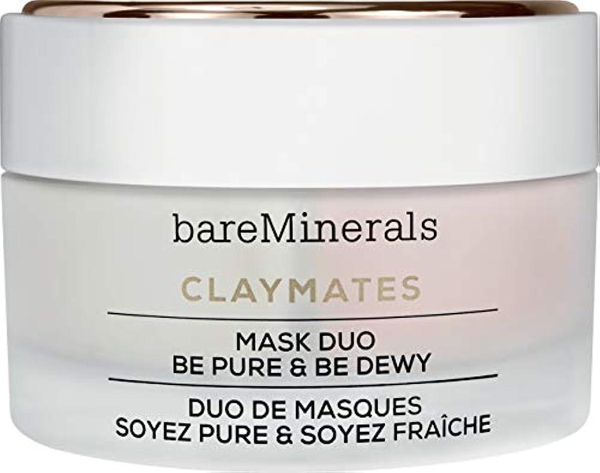 体操誕生名声ベアミネラル Claymates Be Pure & Be Dewy Mask Duo 58g/2.04oz並行輸入品