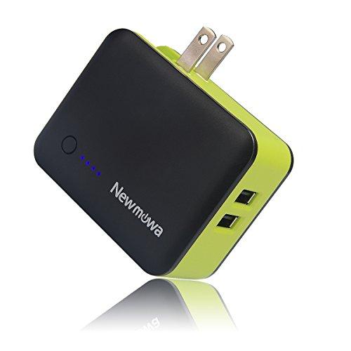 携帯充電器 Newmowa モバイルバッテリー 3350mAh 急速充電 軽量 モバイルバッテリー ACアダプター ポータブル充電器 携帯 バッテリー 充電器 iPhone / iPad / Xperia / タブレット / ゲーム機 等対応
