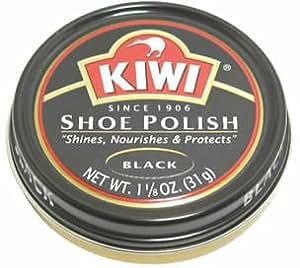 キィウイ 靴クリーム 中缶 黒色