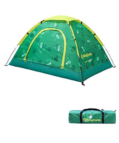 KingCamp(キングキャンプ) テント 子供用 カエル柄 キッズテント 室内室外両方使用可能 子...