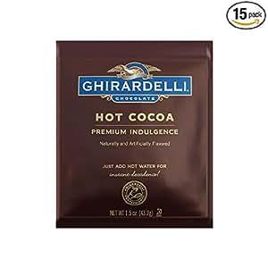 ... Premium Double Chocolate Hot Cocoa 15 count: ホーム&キッチン