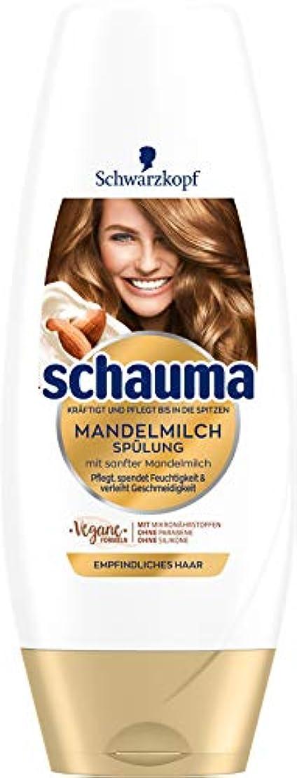 ブロー置くためにパック緑Schaumaアーモンドミルクコンディショナー250 ml