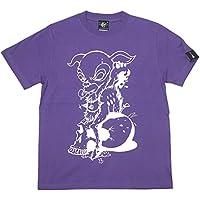 コアバンビ Tシャツ (V.パープル) sp002tee-pu -G- ロック スカル モンスター 半袖 紫色