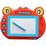 Kindsells 子供用 パズル 早期教育 磁気 ドローイングボード スケッチパッド 1 レッド KDM036143_R*#*