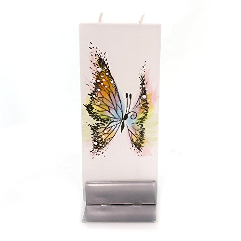 後方に粘液蒸発ホームデコレーションバタフライCandleワックスDripless Fragrance Free f1712