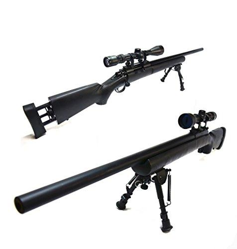 タナカワークス ボルトアクション ガスライフル M24 SWS 24in Ver.2 カートリッジタイプ【タナカ TANAKA M24 SWS 24inch Ver.2 Sniper Weapon System】【付属品:伸縮式 バトル バイポッド (BIPOD),L96 STYLE スコープ(3-9x40),20mmレール対応のハイマウント,東京マルイBB弾0.2g(1600発),LEDソーラーキーホルダー,】