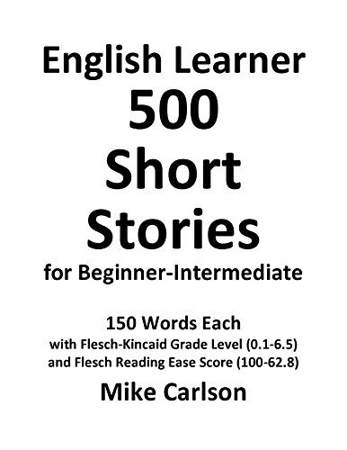English Learner 500 Short Stories for Beginner-Intermediate (English Edition) Kindle版