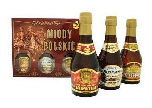 蜂蜜酒 ポーランドミード・アピス ミニボトル250ml 3本セット
