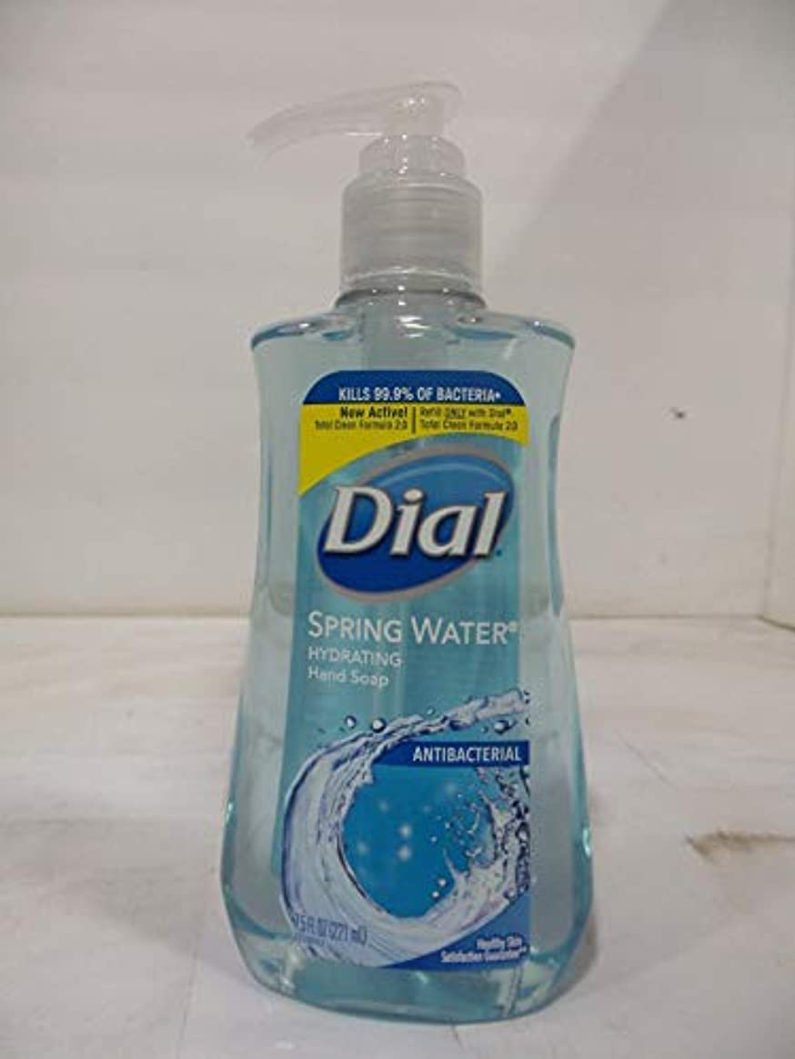 に変わるダーリン黒人Dial 抗菌せっけん湧水7.50オズ(12パック)