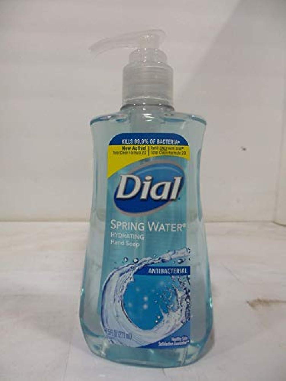 条約持つ派手Dial 抗菌せっけん湧水7.50オズ(12パック)