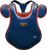ゼット(ZETT) 少年野球 キャッチャーズギア プロステイタス 少年軟式用プロテクター ネイビー×レッド(2964) BLP7010C