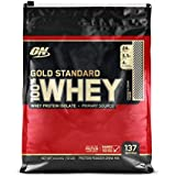 Optimum Nutrition Gold Standard 1 Whey Cookies & Cream Protein Powder, 4.55 Kilograms