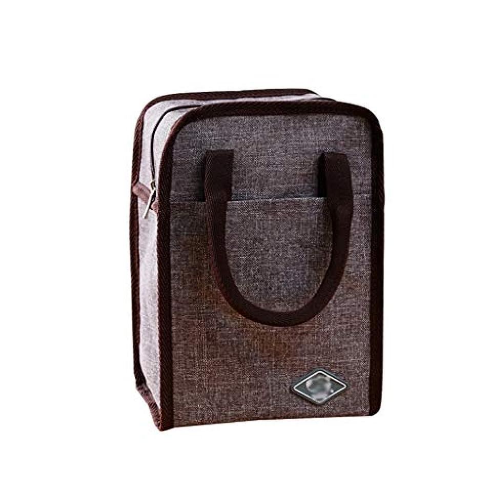 チャンス旅行者どれかオックスフォード布ランチバッグ、厚手の断熱材を運ぶのが簡単絶縁バッグ多機能クリエイティブ絶縁ピクニック (色 : B)