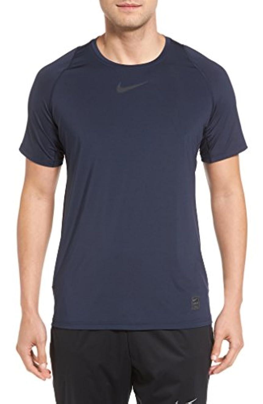 統計的バーベキュー弾薬ナイキ トップス シャツ Nike Pro Fitted T-Shirt Obsidian/ [並行輸入品]