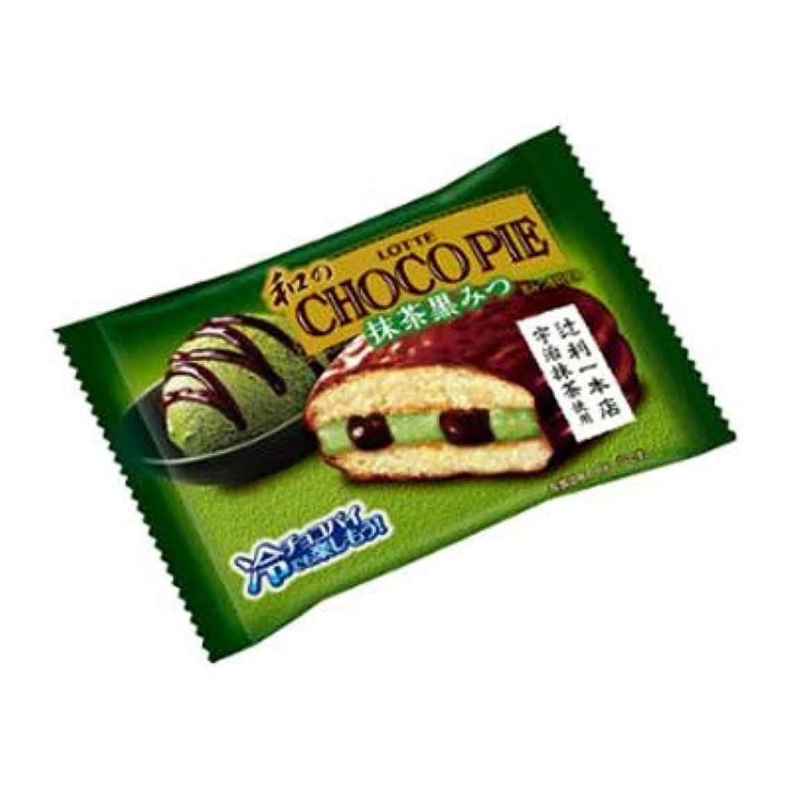 数値脈拍キリンロッテ 和のチョコパイ〈抹茶黒みつ〉個売り 1個 120コ入り