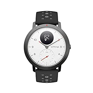 Withings Steel HR Sport ホワイト 歩数 消費カロリー 心拍数 睡眠データ記録 最大25日間充電持続 【日本正規代理店品】 HWA03B-40white-sport-all-Asia