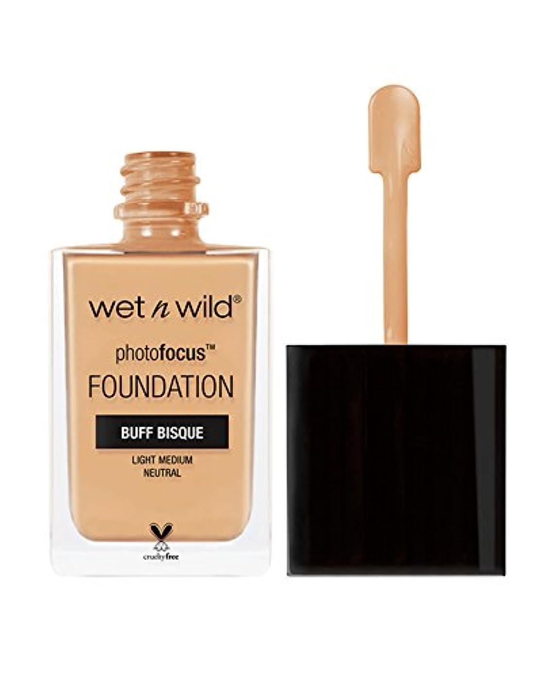 月面プレート反射WET N WILD Photo Focus Foundation - Buff Bisque (並行輸入品)