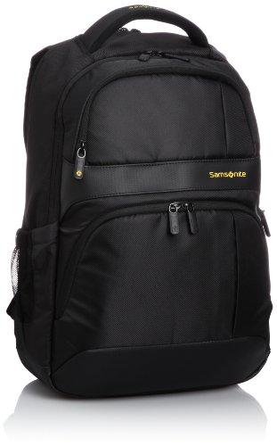 [サムソナイト] SAMSONITE IKONN / アイコン ラップトップ バックパック III(ビジネスバッグ・リュック・大容量・リュックサック・ラップトップ・PC収納・保証付) 31R*09003 09 (ブラック)