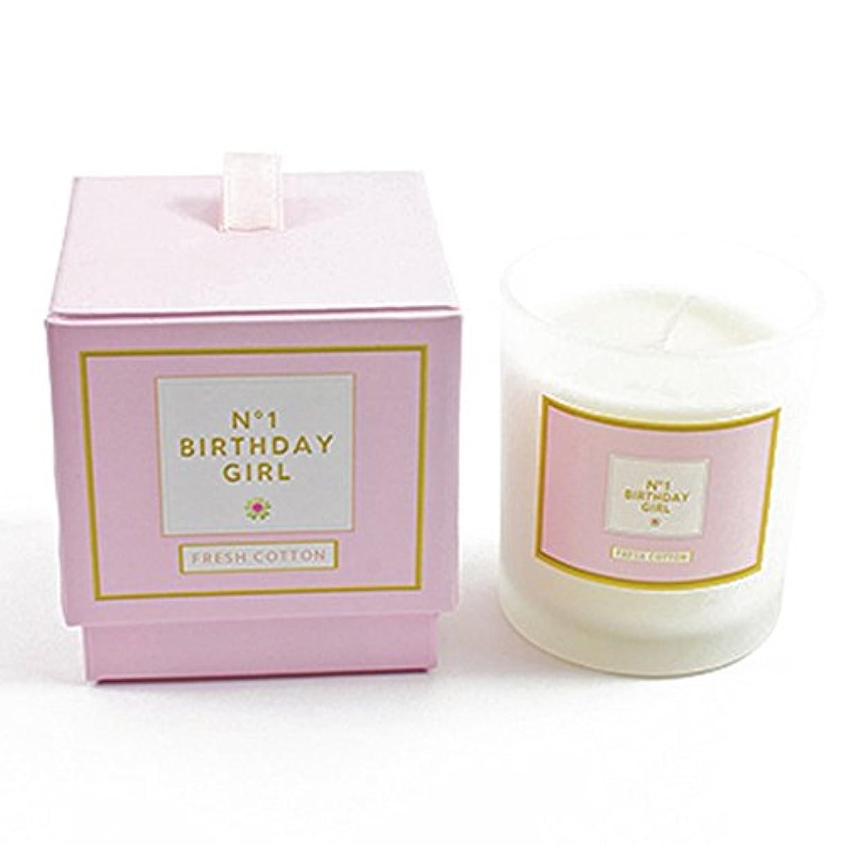 ホラー注釈呼ぶ(ヘヴン?センズ) Heaven Sends 'No. 1 Birthday Girl' キャンドル ろうそく (ワンサイズ) (ホワイト/ピンク)