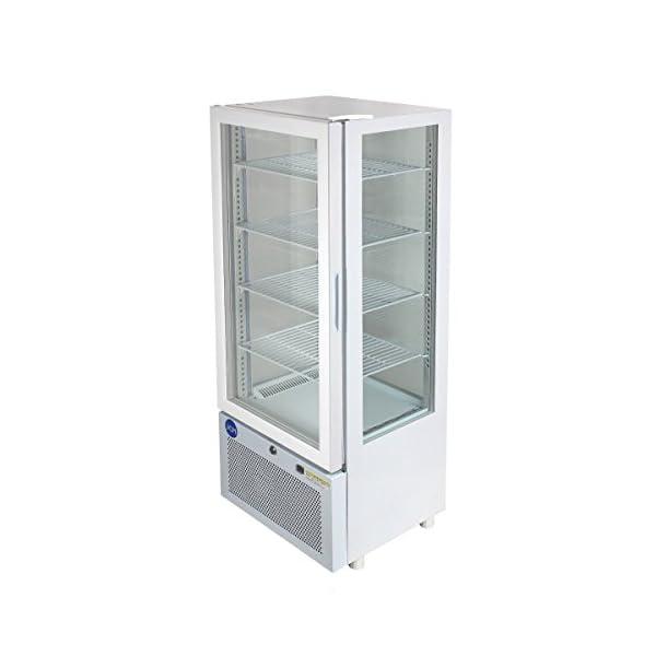 4面ガラス冷蔵ショーケース【JCMS-98】 ...の紹介画像2