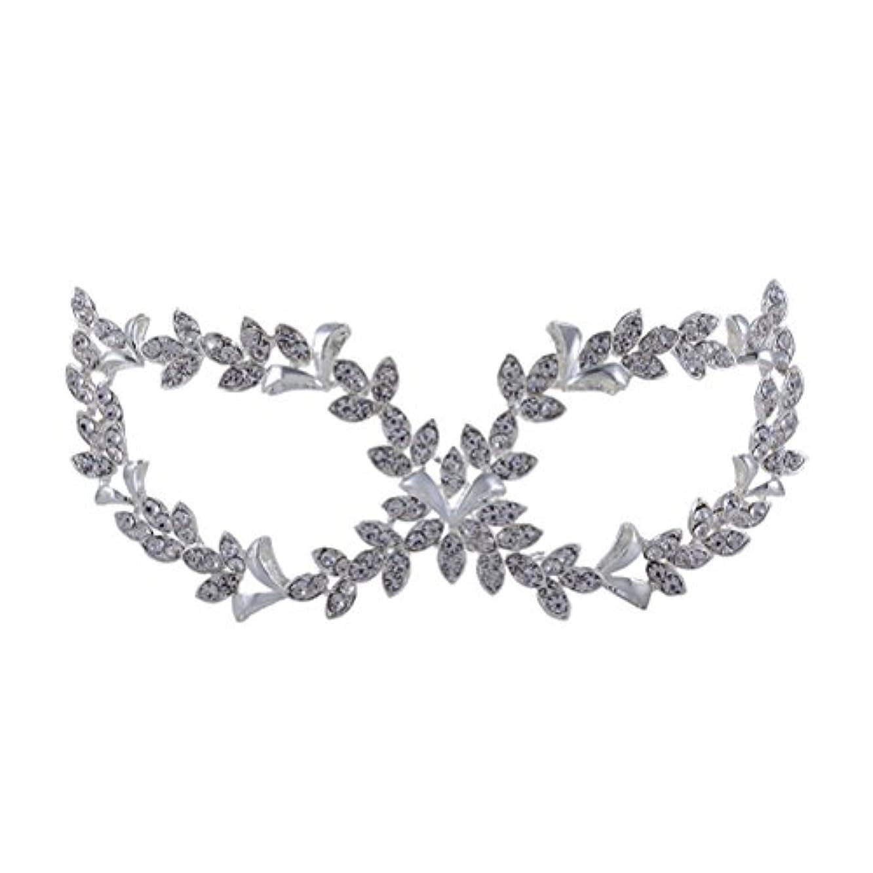 神秘的な手配するタヒチROSENICE 仮面舞踏会マスク 調節可能